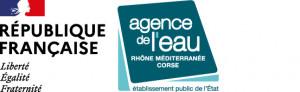 Logo Agence de l'eau Rhône Méditerranée Corse