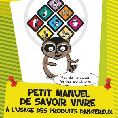 Guide des produits dangereux dans la maison : couverture