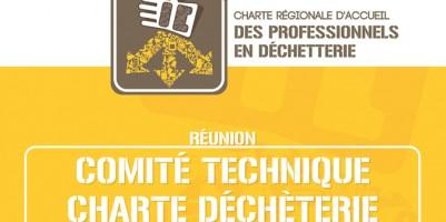 Comité technique de la charte d'accueil des professionnels en déchèterie, de Franche-Comté