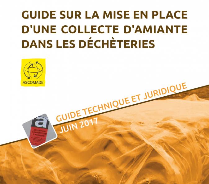 Guide sur la mise en place d'une collecte d'amiante dans les déchèteries : couverture