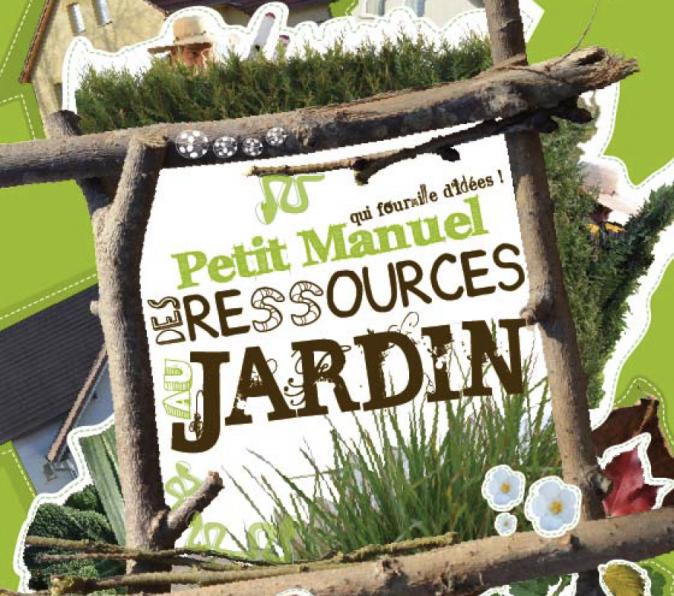 Petit manuel des ressources au jardin, couverture