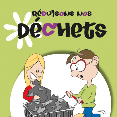 Guide Réduisons nos déchets : couverture