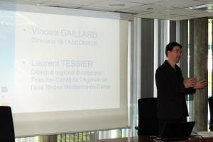 Vincent Gaillard 2ème journée interrégionale d'information et d'échanges sur les micropolluants dans l'eau
