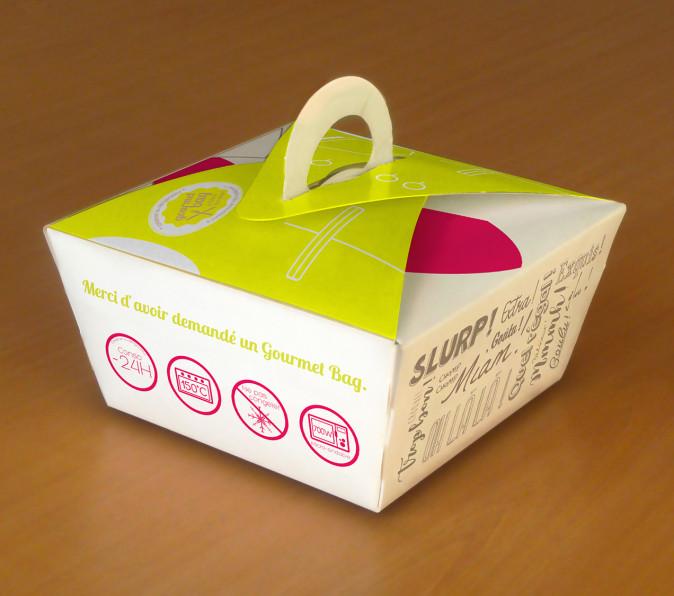habillage de boite Gourmet Bag personnalisable