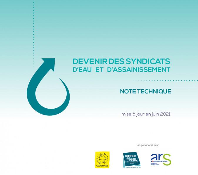 Note technique Transfert de compétences : devenir des syndicats d'eau et d'assainissement