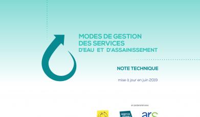 Note technique Transfert de compétences : modes de gestion des services d'eau et d'assainissement